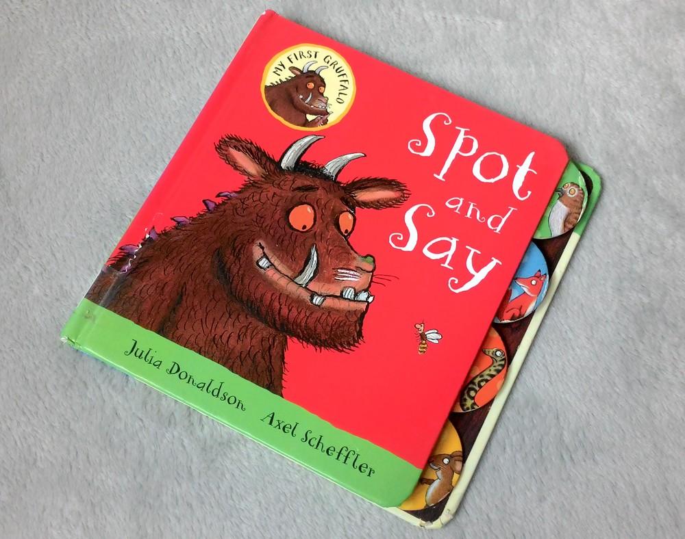 """Книга груффало """" найди и скажи"""". англ.язык. фото №1"""