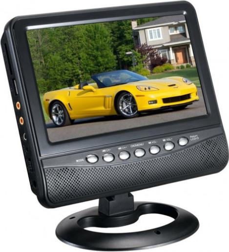 Портативный автомобильный телевизор ns-901 9.5 дюймов фото №1
