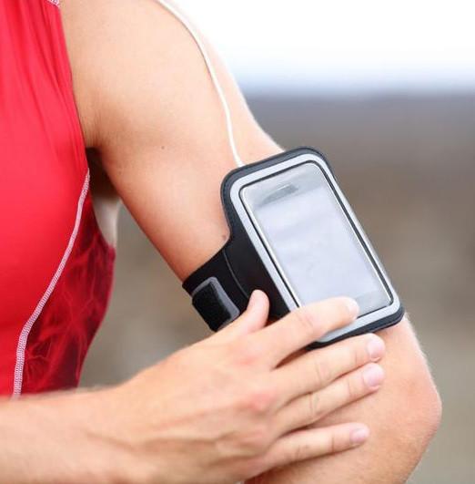 Спортивный чехол smart на руку для телефона фото №1