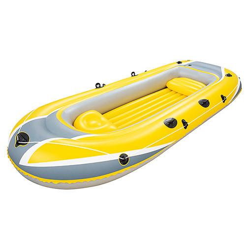 Двухместная надувная лодка bestway 61066 hydro force raft, желтая, 307*126*43 см фото №1