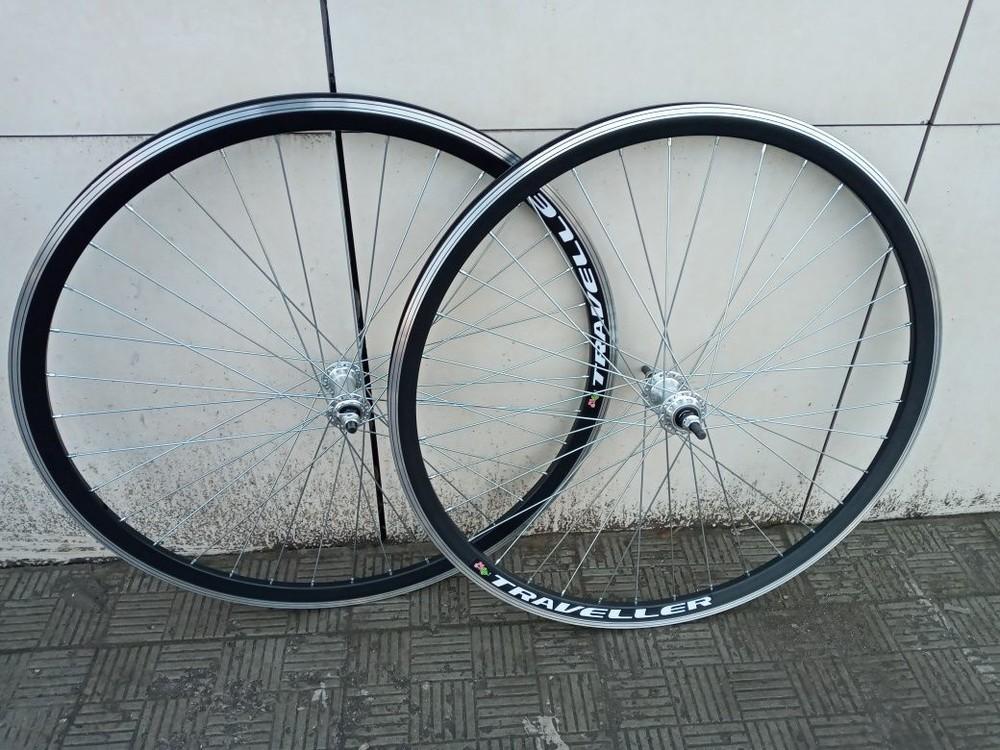 Вело колёса переднее заднее синглспид 28 дюймов фото №1