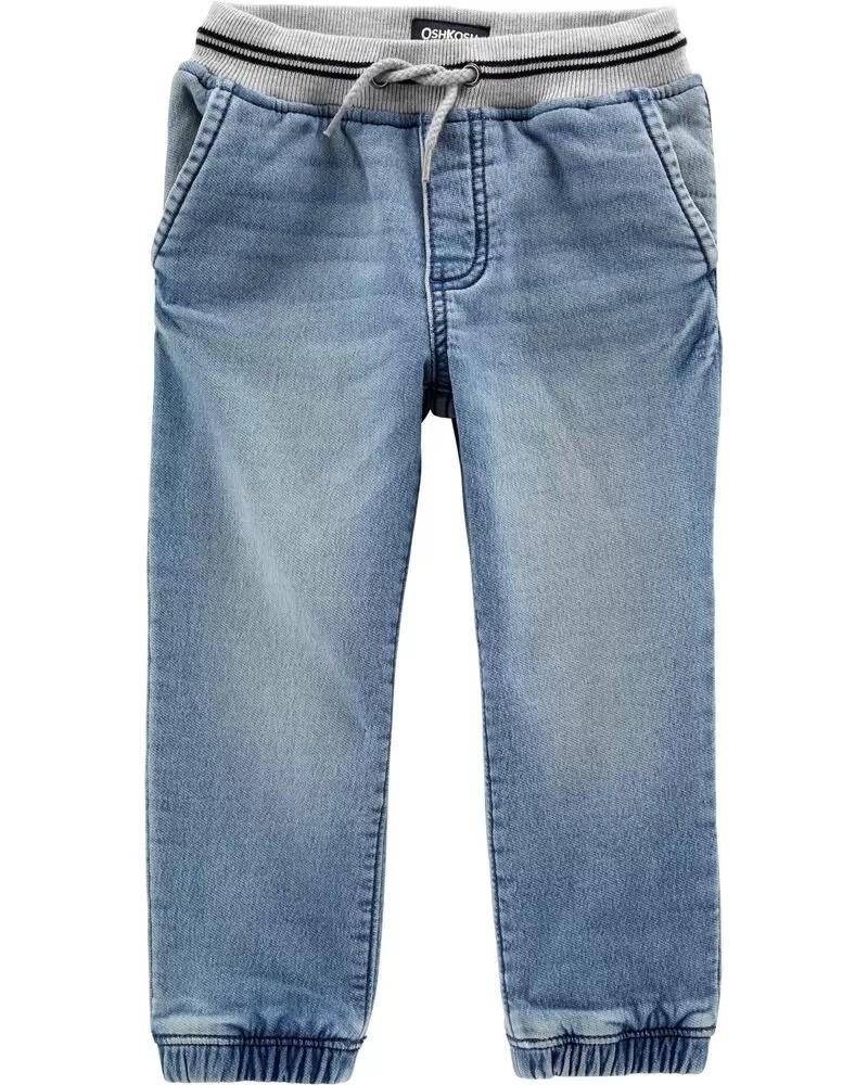 Стильные утеплённые джинсы oshkosh, в наличии 2, 3, 4 года фото №1
