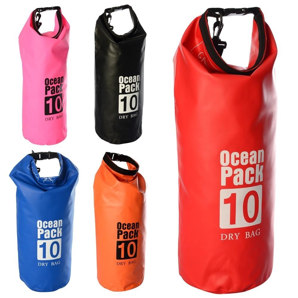 Гермомешок рюкзак для плавания непромокаемая сумка 10 литров фото №1