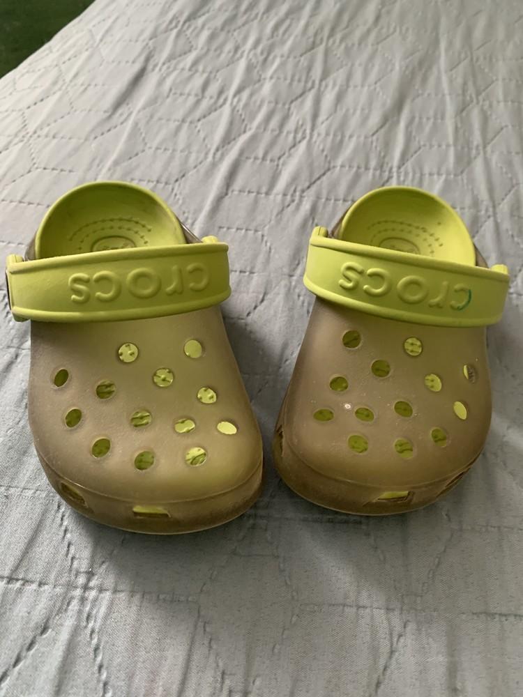 Кроксы crocs оригинал р6-7 фото №1
