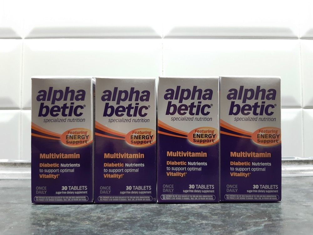 Abkit, alpha betic multi (30 таб), витамины для диабетиков, от диабета фото №1