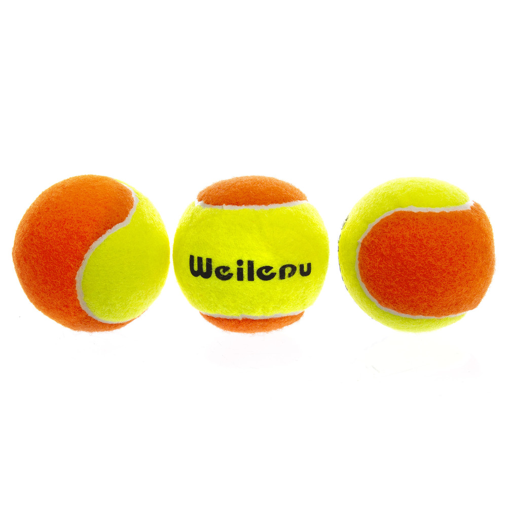 Мяч для большого тенниса weilepu 662: 3 мяча в комплекте фото №1