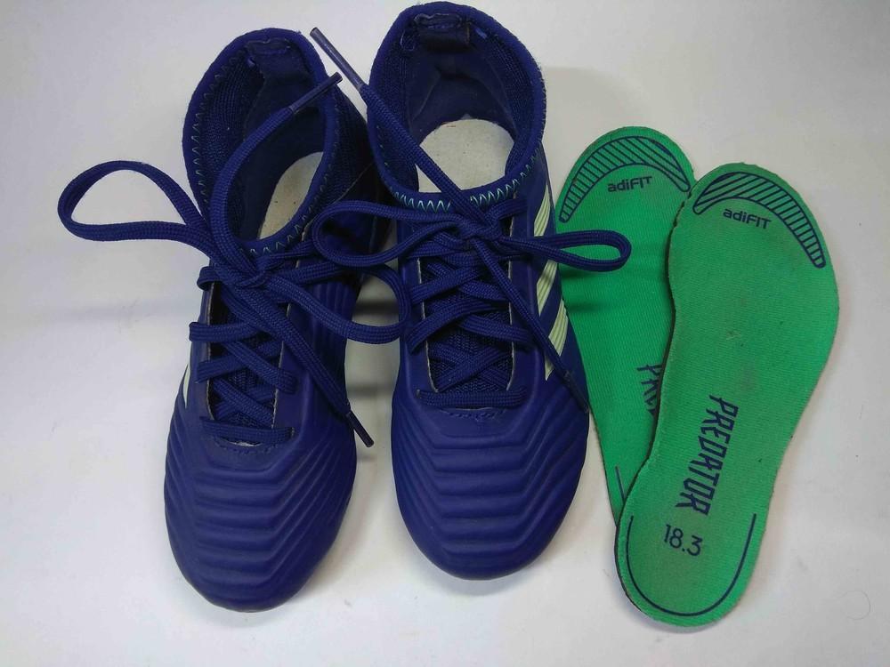Футбольные бутсы adidas 30 р. 18,3 см фото №1