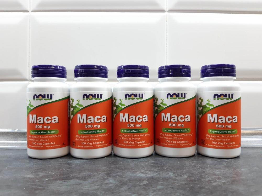 Now foods, maca (100 капс. по 500 мг), мака перуанская фото №1