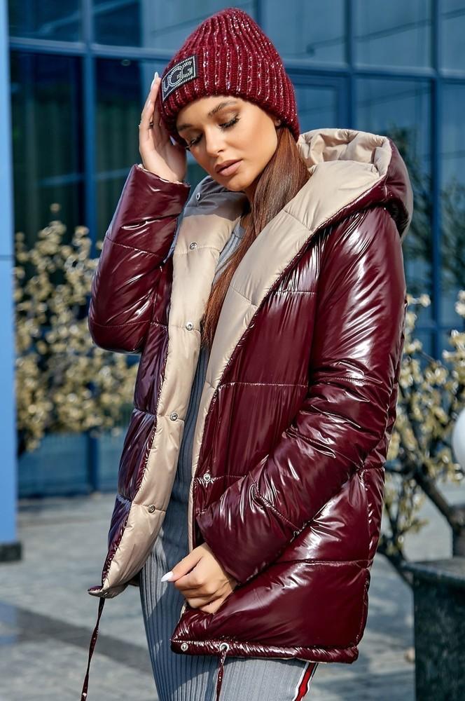 Куртка двухстороння осень-зима фото №1