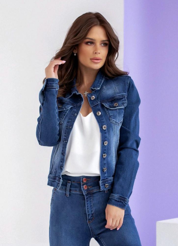 Куртка джинсовая фото №1