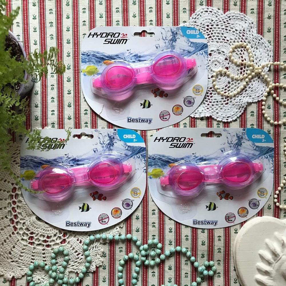 Новые детские очки для плавания для девочки bestway фото №1
