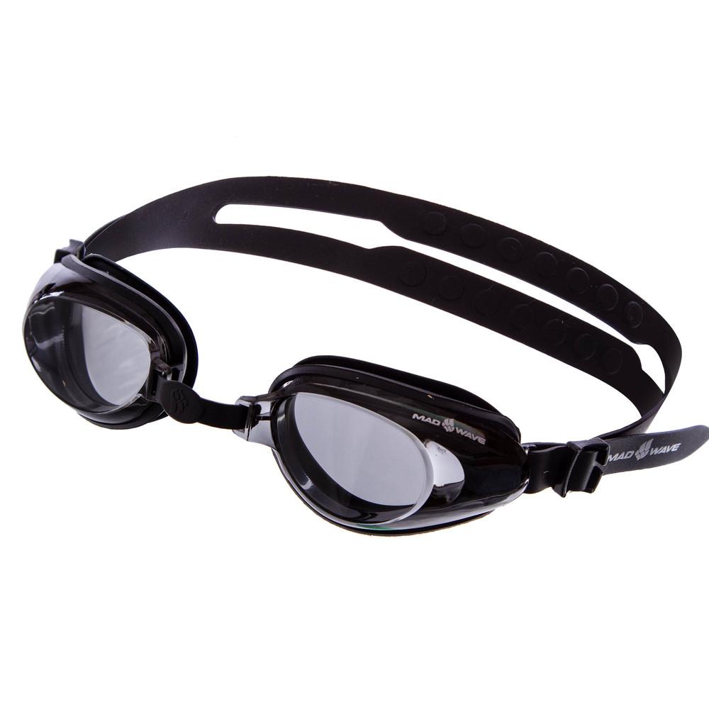 Очки для плавания madwave raptor 0427100: поликарбонат, силикон фото №1