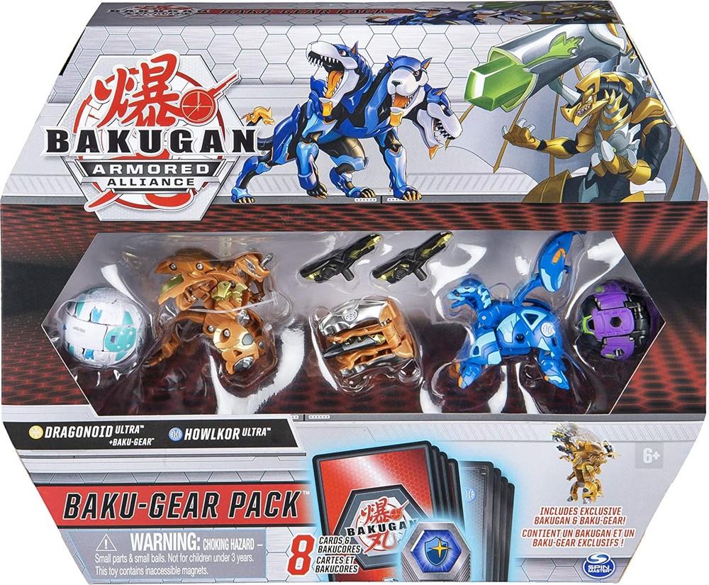 Набор бакуган драгоноид и холкор spin master bakugan armored alliance baku-gear фото №1