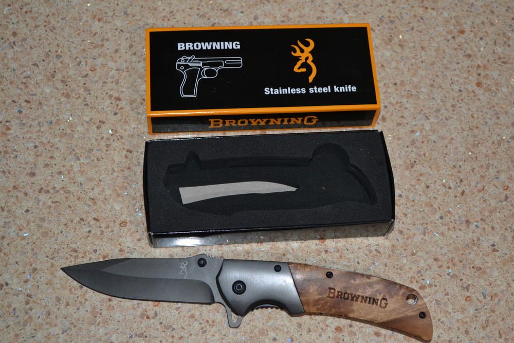 Нож складной browning 354 фото №1