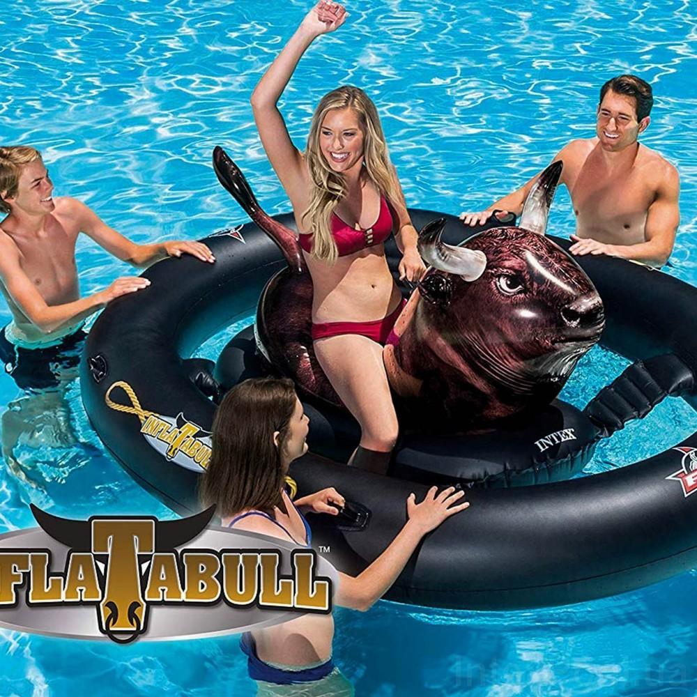 Надувная игра на воде «родео бык» 239 х 196 х 81 см фото №1