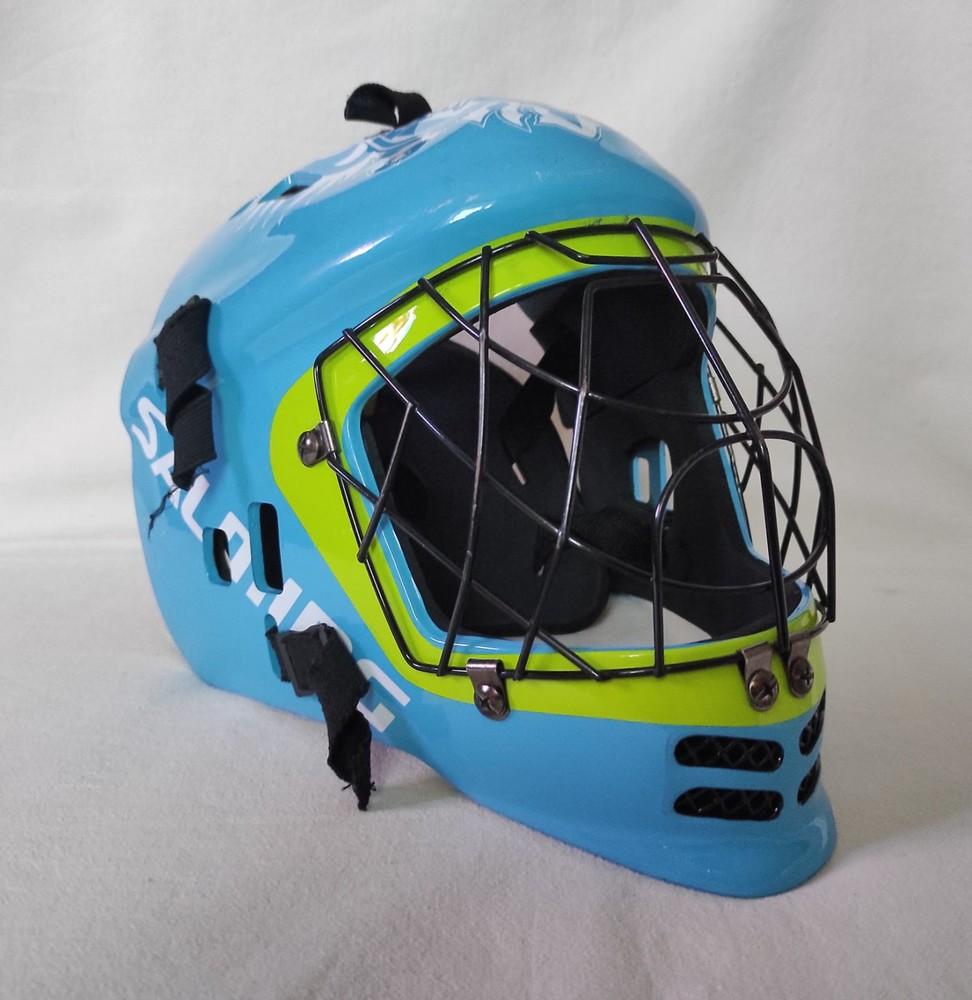 Вратарский шлем salming. s фото №1