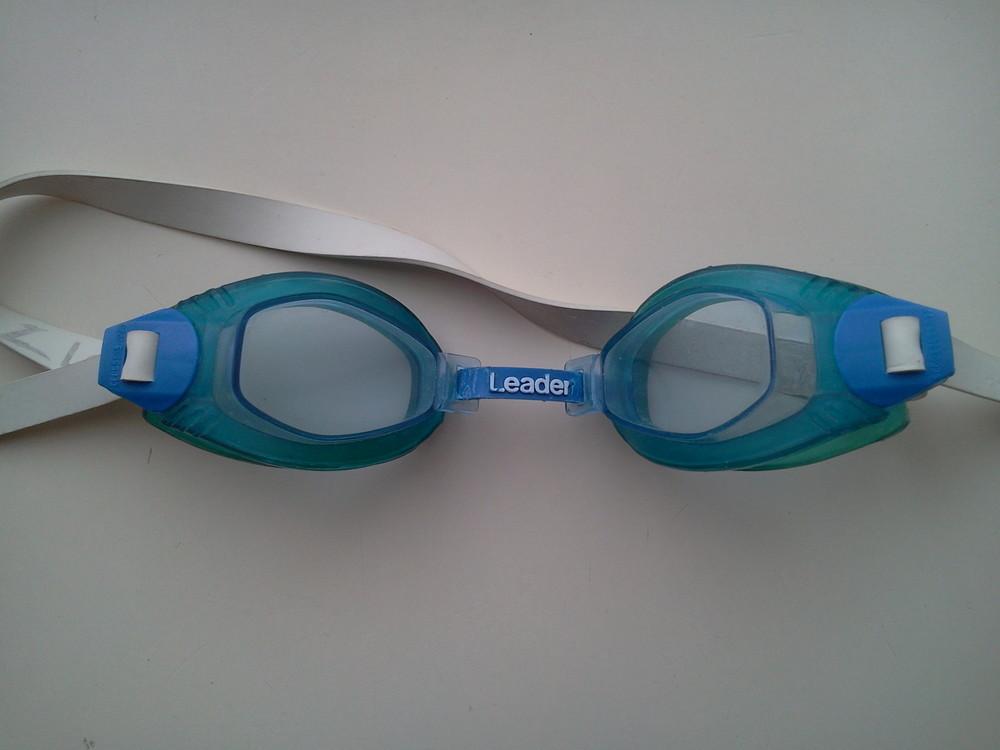 Очки для плавания leader фото №1