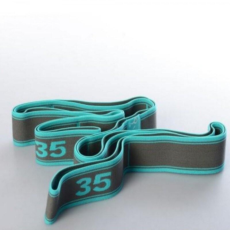 Резинка для растяжки с прошитыми петлями, эспандер, 8 петель - profi ms 2238-2 фото №1