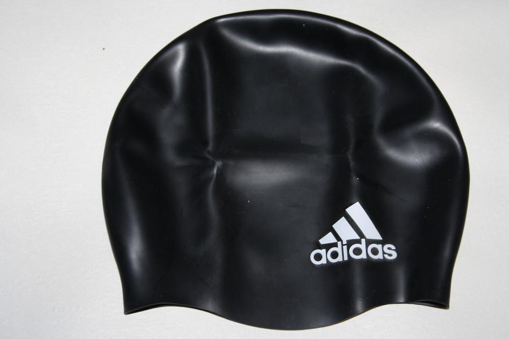 Плавательная шапочка adidas logo фото №1