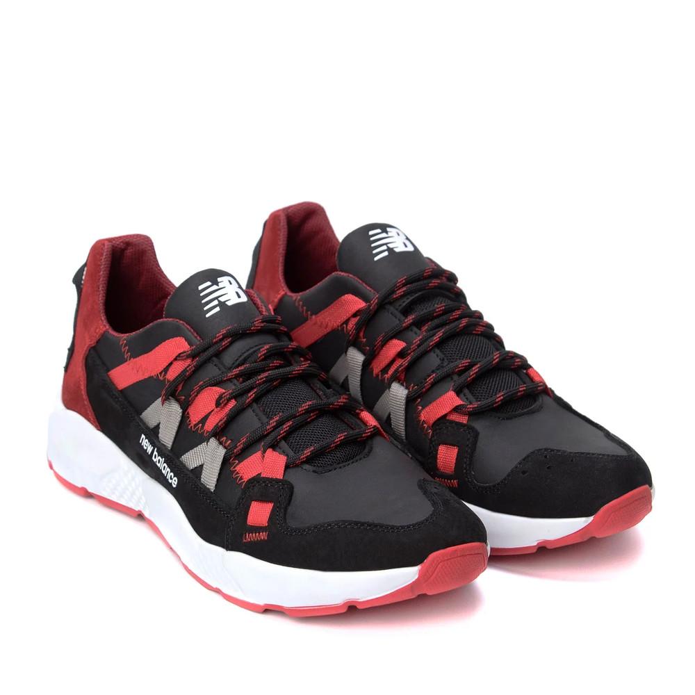 Кроссовки мужские кожаные new balance red ➖ кросівки чоловічі шкіряні фото №1