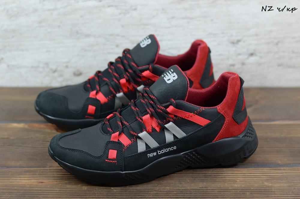 Мужские кожаные кроссовки new balance ™ чоловічі шкіряні кросівки (кроссовки мужские) фото №1
