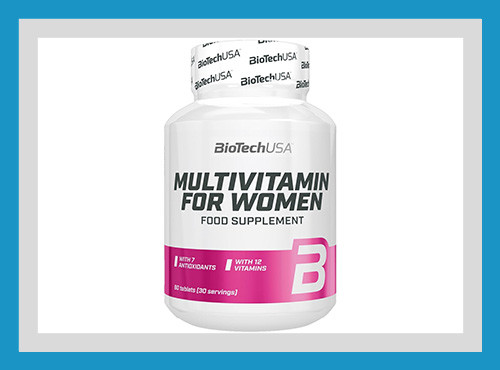 Витамины для женщин multivitamin for women, biotech usa, 60 таблеток фото №1
