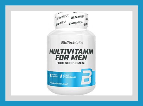 Витамины и минерал biotech usa nutrition multivitamin for men 60 таб. фото №1