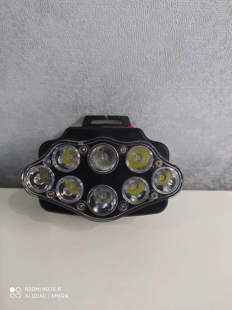Налобный фонарь. 4 режима работы. фото №1