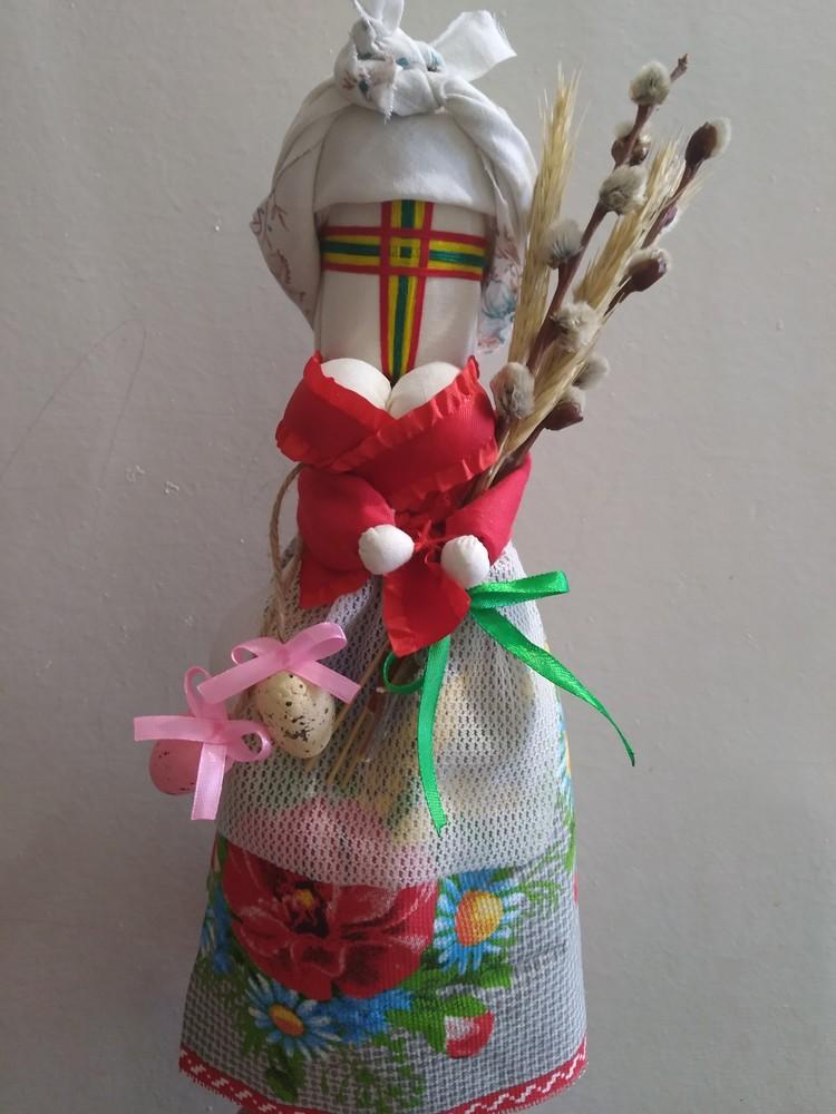 Кукла мотанка пасхальная вербная фото №1