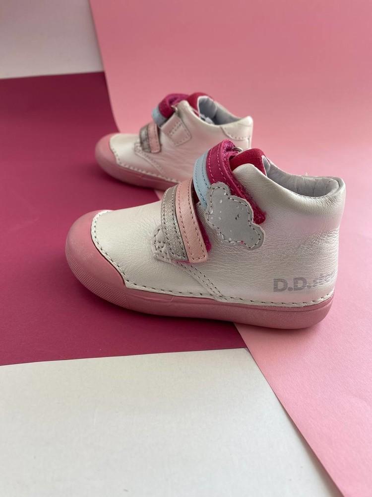 Кожаные ботиночки ddstep для девочки фото №1