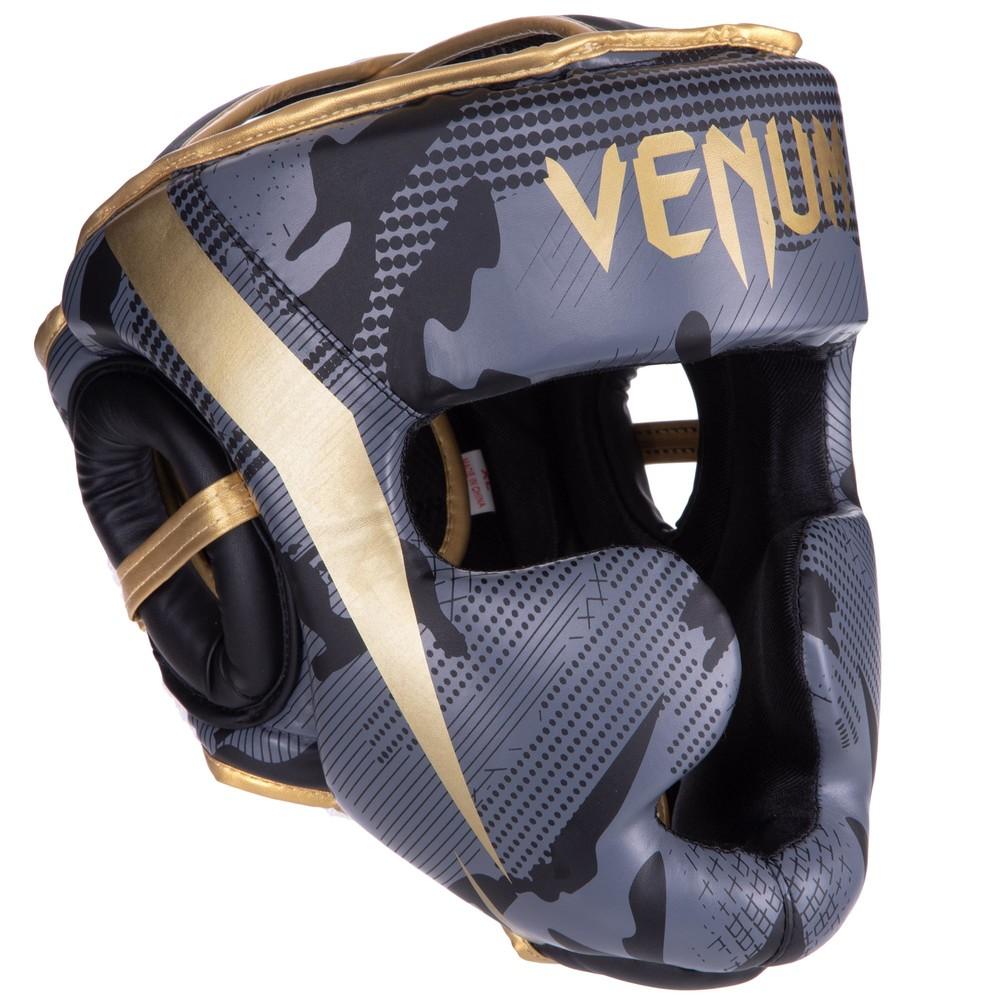 Шлем боксерский с полной защитой venum 2529 (шлем бокс): размер s-xl фото №1
