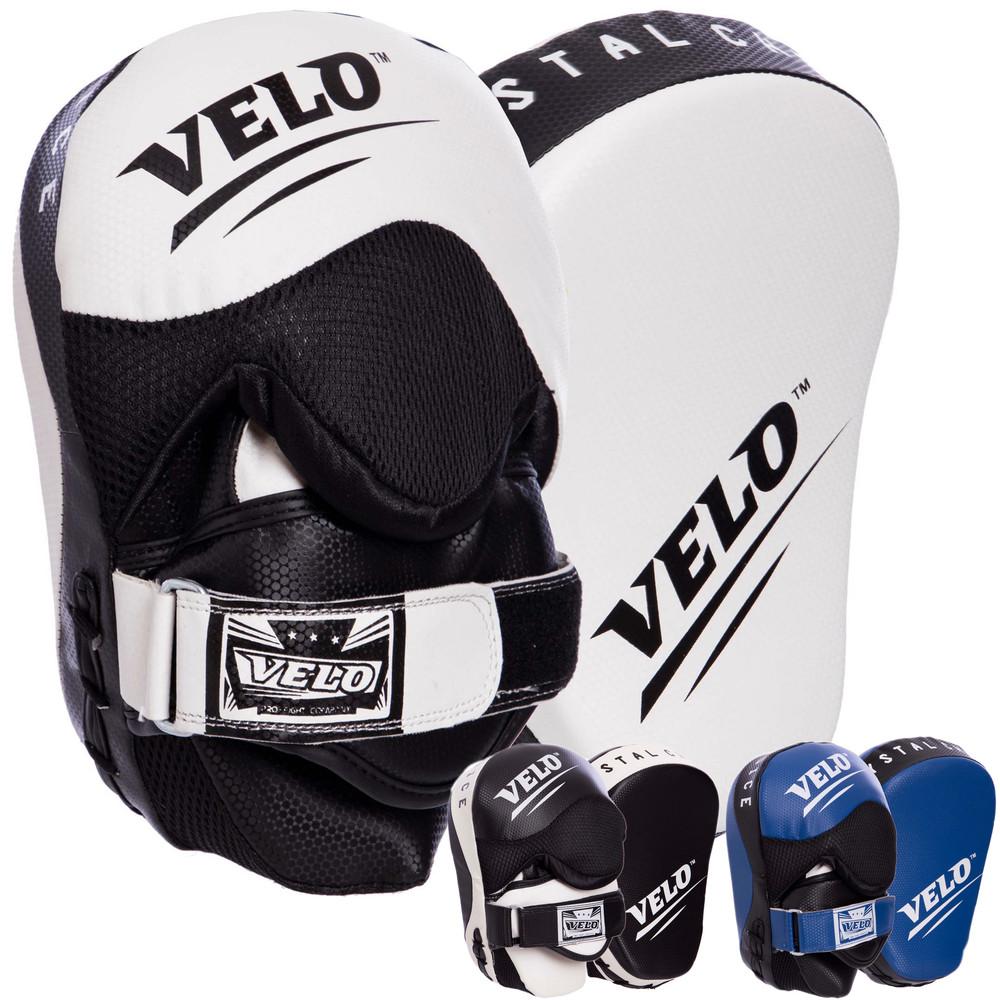 Лапа изогнутая боксерская velo 2212: 2 лапы в комплекте (3 цвета) фото №1