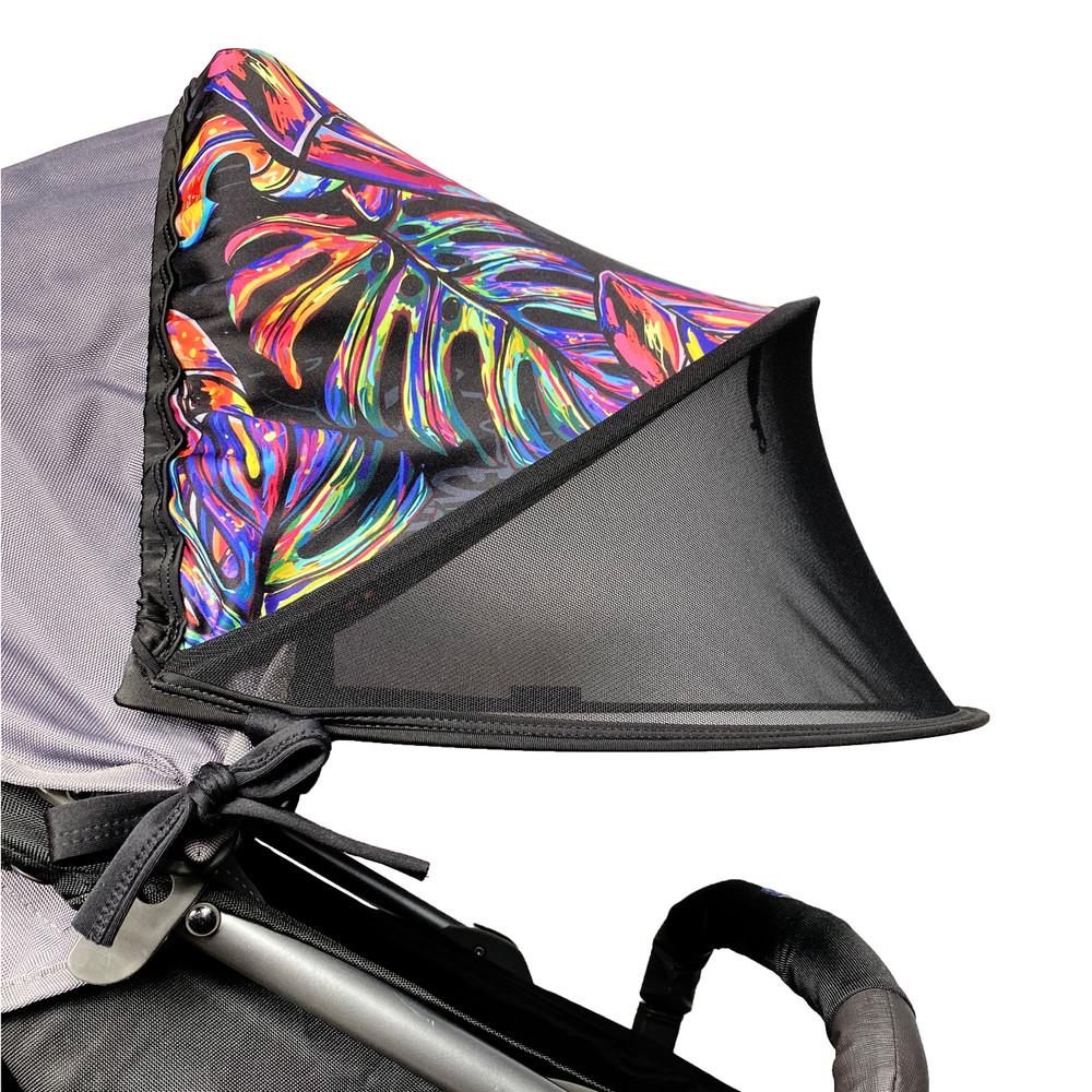Солнцезащитный двойной козырек на коляску double shade фото №1