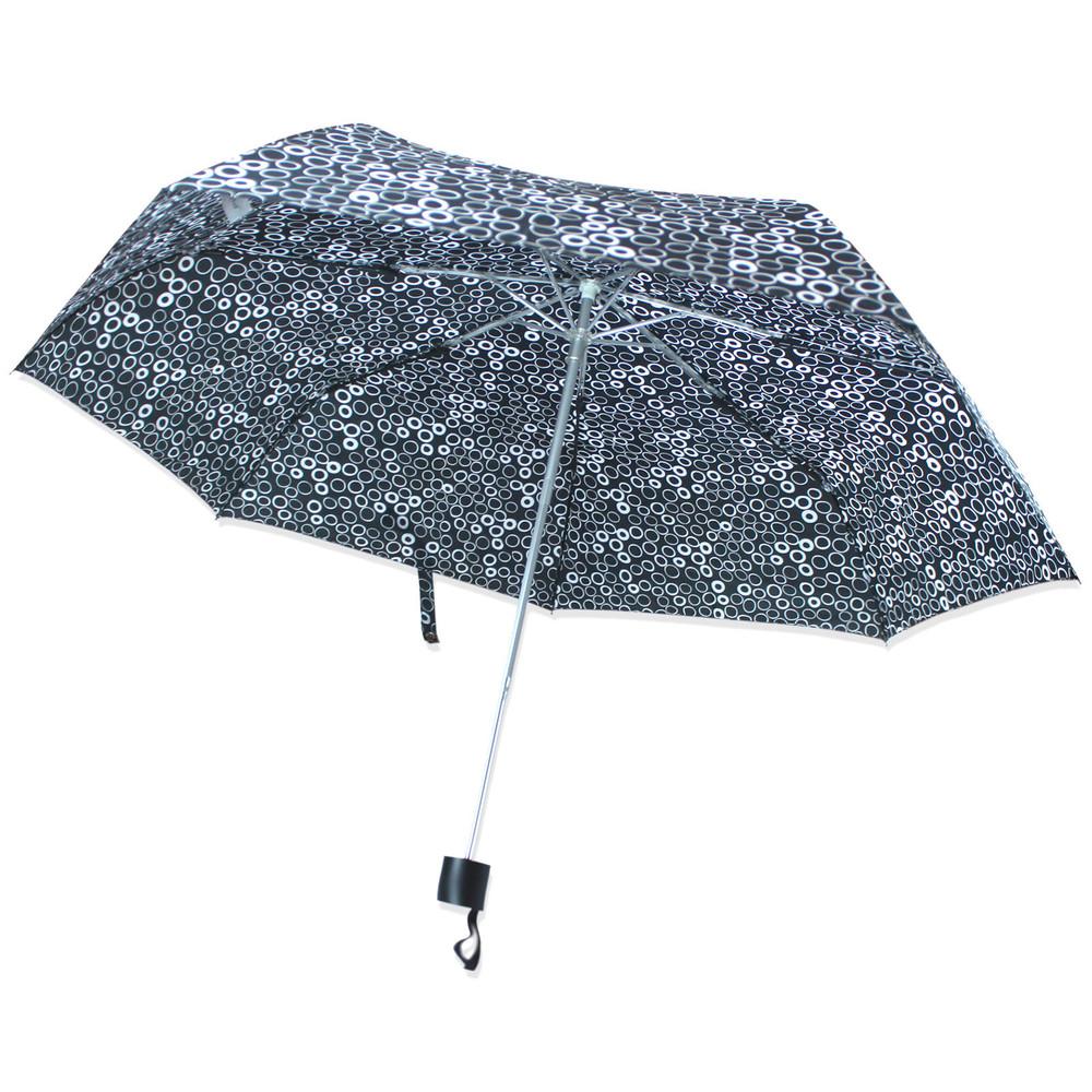 Зонт складной полуавтомат. кружочки. фото №1