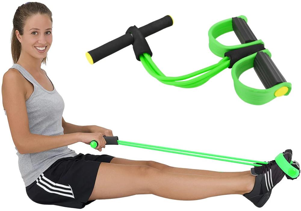 Многофункциональный тренажер для фитнеса pull reducer (для мышц рук, ног, живота и спины) фото №1