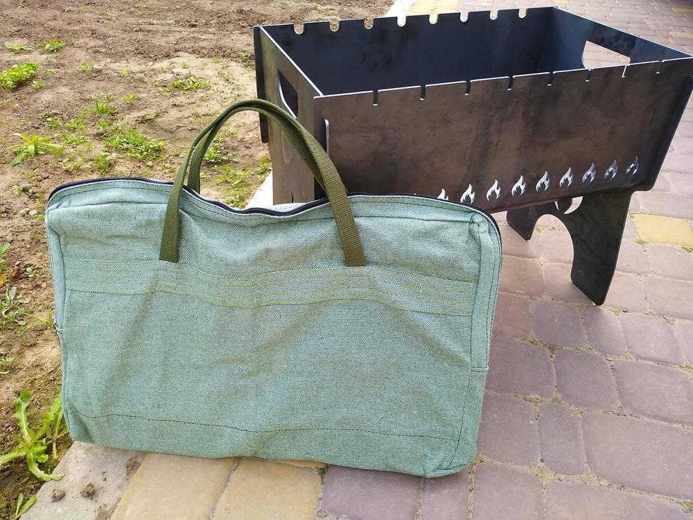 Чехол - сумка на мангал 3 мм фото №1