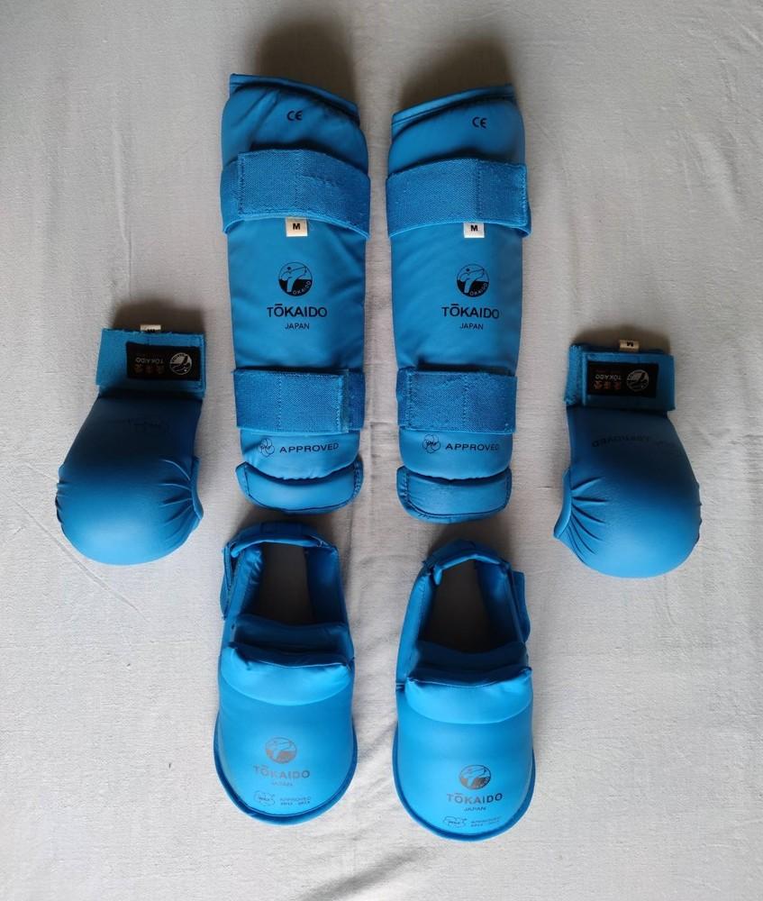 Перчатки. защита голени и стопы. tokaido. wkf. m фото №1