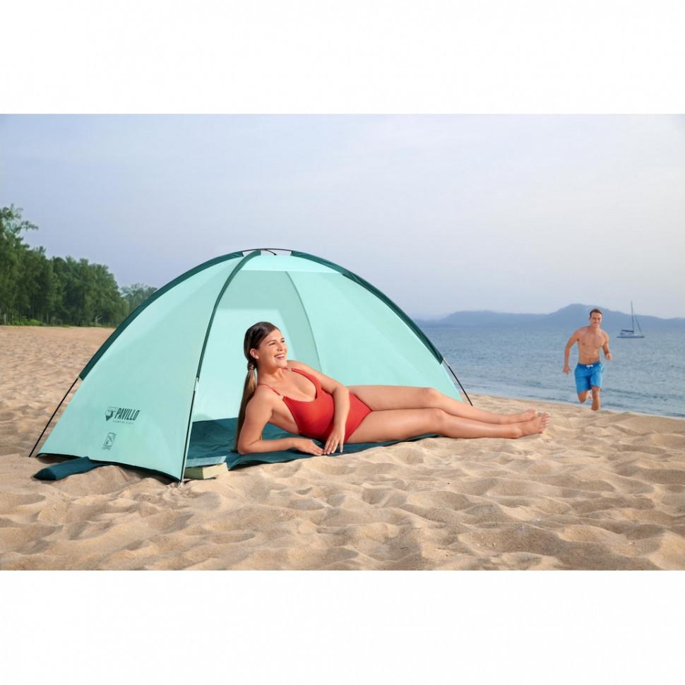 Палатка пляжная с навесом в чехле bestway 68105 фото №1