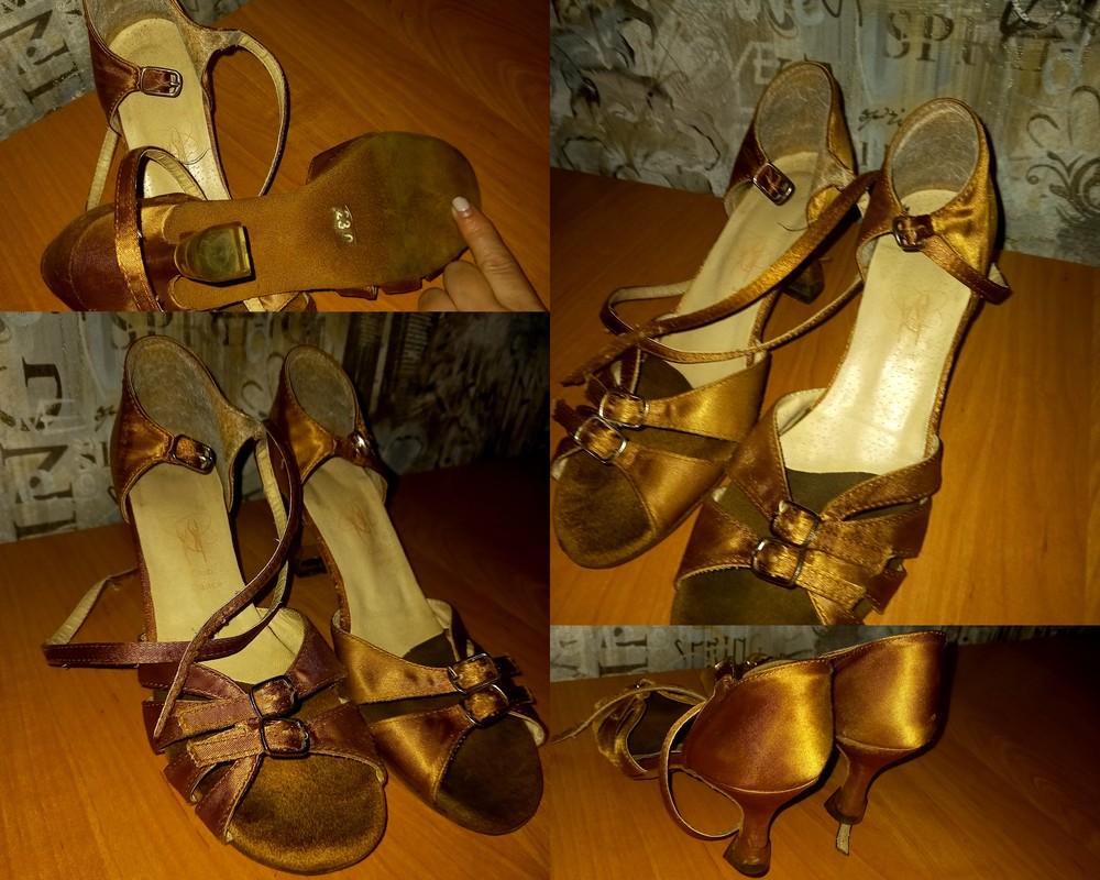 Туфли для тренеровок по бальным танцам ( латина) фото №1