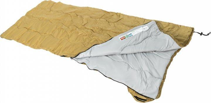 Спальный мешок-одеяло кемпинг solo 200l фото №1