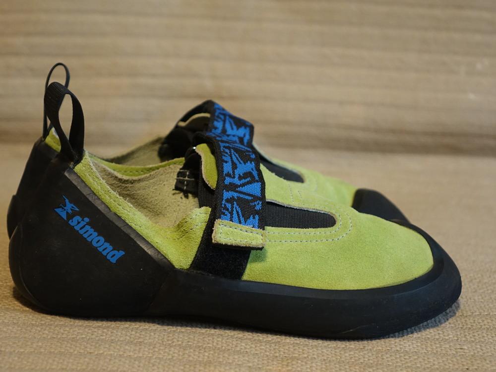 Фирменные кожаные скальные туфли simond франция. 38 р. ( 24 см.) фото №1