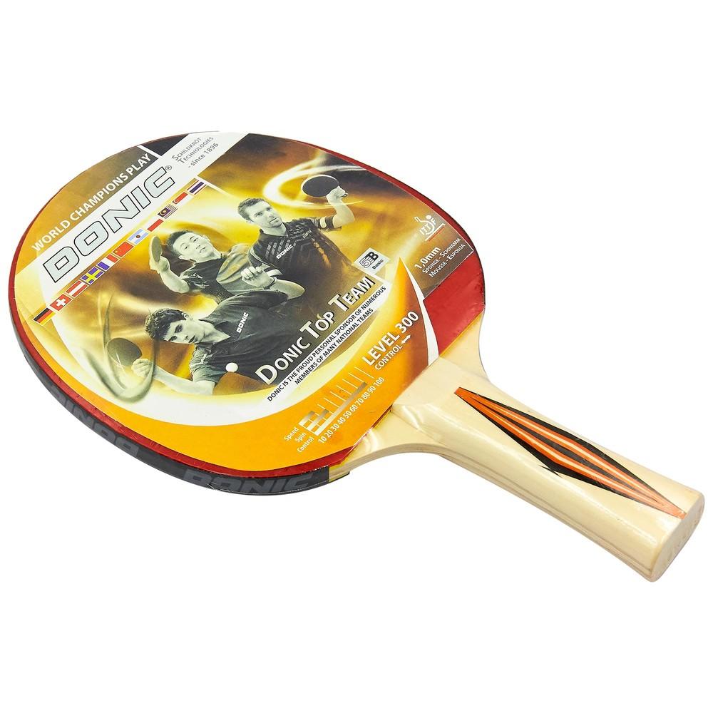 Ракетка для настольного тенниса donic level 300 top team 8386 фото №1