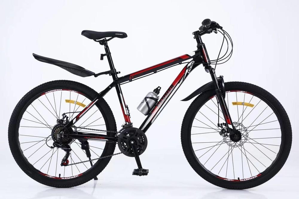 Велосипед спортивный 27.5 дюймов s100 hammer excellent облегченный фото №1