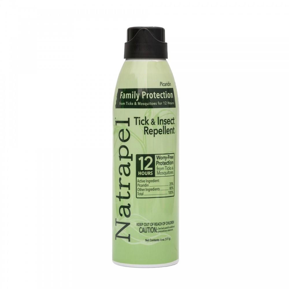 Репеллент natrapel пикаридин спрей защита от комаров, клещей, насекомых фото №1