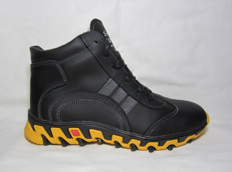 Зимние ботинки на шнурках подросток 36 37 38 39 40 размер фото №1
