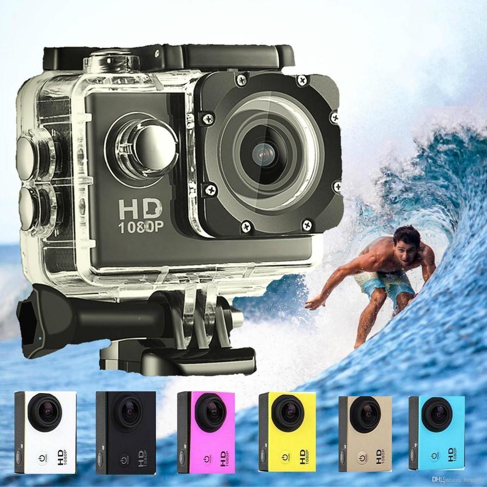 Экшн камера a7 fullhd + аквабокс + регистратор полный компект+крепление шлем фото №1