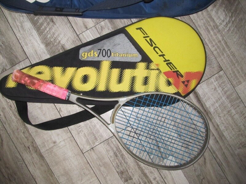 Ракетка для большого тенниса prince cts lightning 90 graphite чехол фото №1